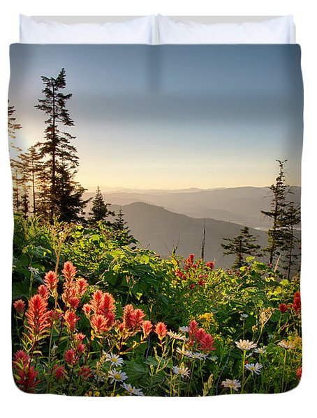 Wildflower View Duvet Cover