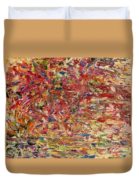 Wildflowers Dancing With The Light Duvet Cover