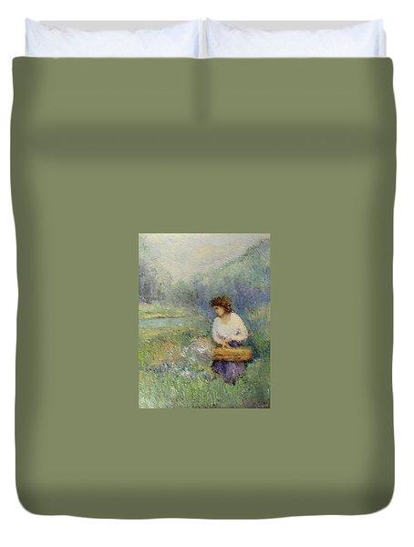 Wildflowers Duvet Cover by Gail Kirtz
