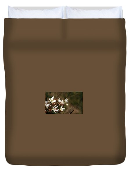 Duvet Cover featuring the photograph Wildflowers by Marna Edwards Flavell