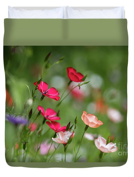 Wildflowers Meadow Duvet Cover