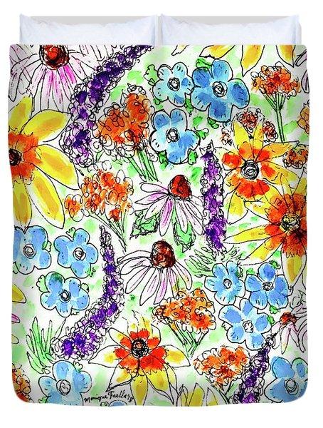 Wildflowers  Duvet Cover