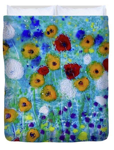 Wildflowers Never Fade Duvet Cover