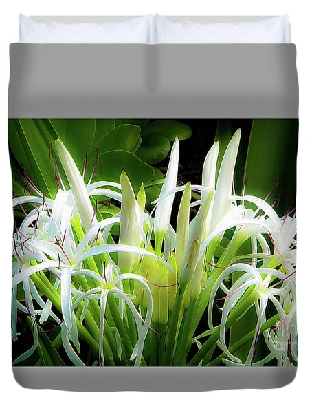 Duvet Cover featuring the photograph Wildflowers Of Hawaii by D Davila