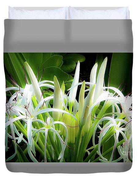 Wildflowers Of Hawaii Duvet Cover