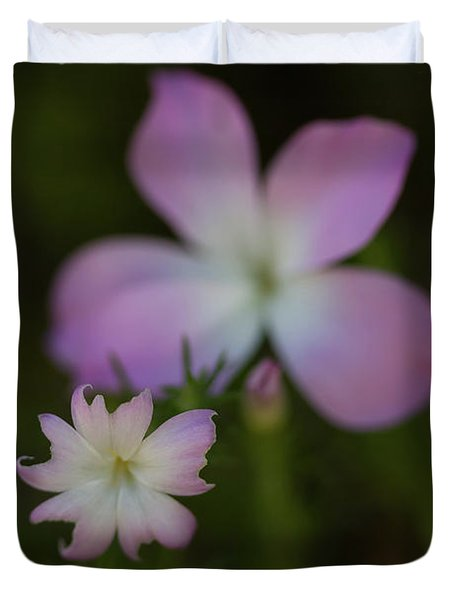 Duvet Cover featuring the photograph Wildflowers by Roger Mullenhour