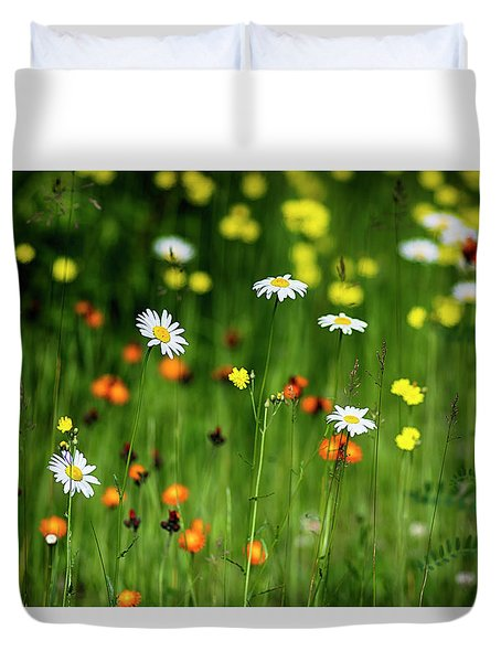 Wildflowers2 Duvet Cover