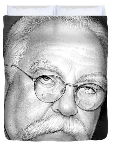 Wilford Brimley Duvet Cover