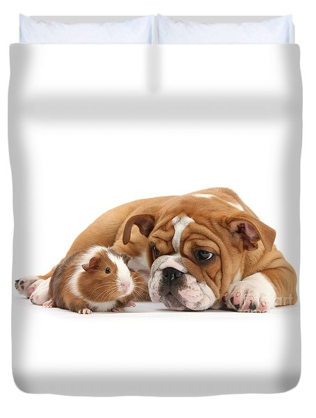 Will You Be My Friend? Duvet Cover