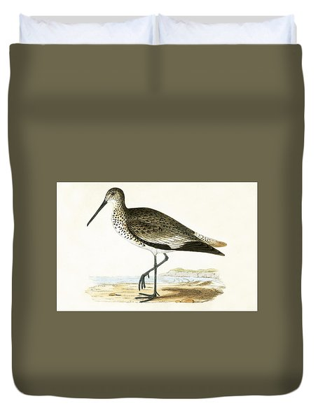 Willet Duvet Cover by English School