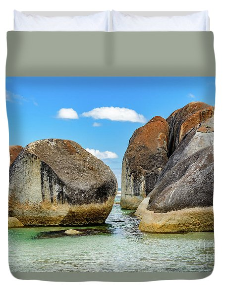 William Bay 2 Duvet Cover