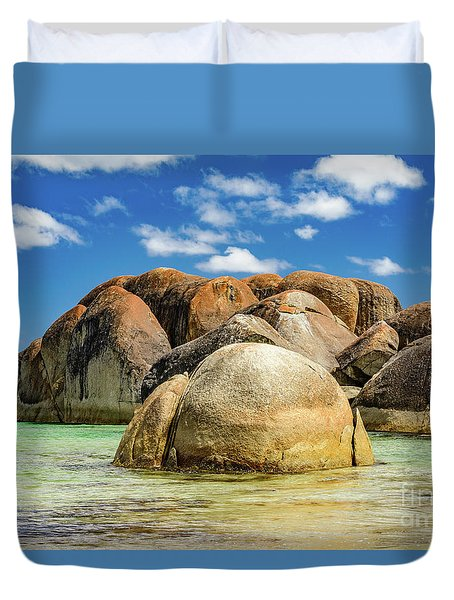 William Bay Duvet Cover
