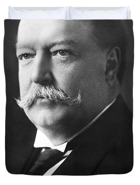 William Howard Taft Portrait - 1908 Duvet Cover