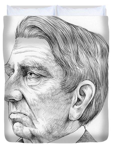 William Seward Duvet Cover
