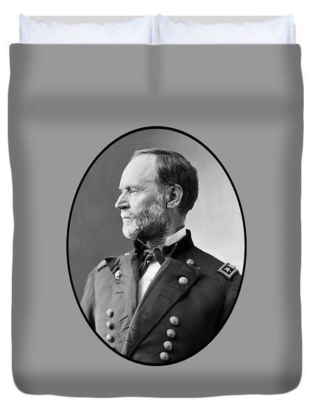 William Tecumseh Sherman Duvet Cover by War Is Hell Store