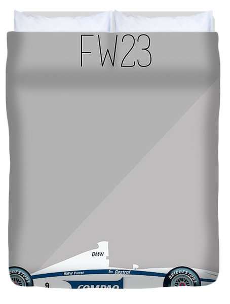 Williams Bmw Fw23 F1 Poster Duvet Cover