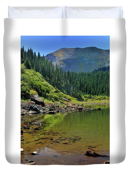 Williams Lake Duvet Cover