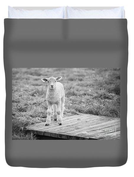 Williamsburg Lamb Duvet Cover