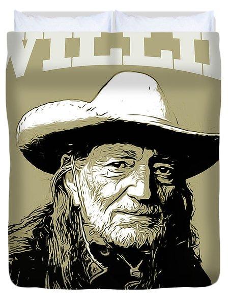 Willie 2 Duvet Cover