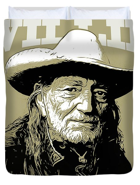 Willie Duvet Cover