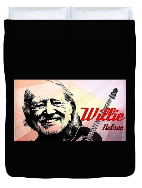 Willie Duvet Cover
