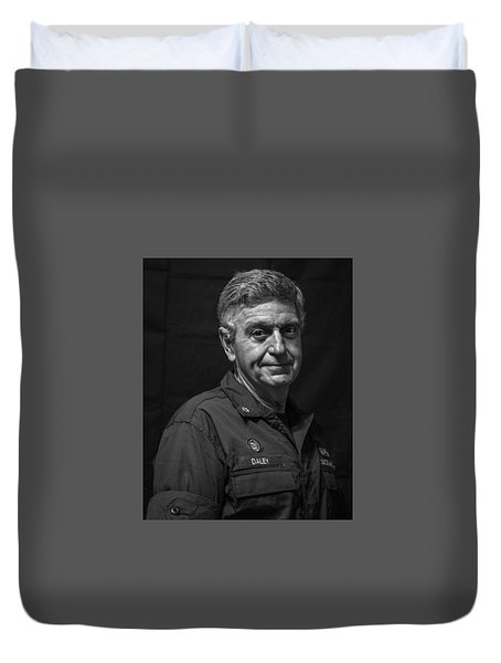 Willing And Able Duvet Cover