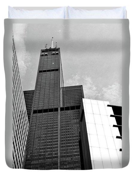 Willis Tower Wedge Duvet Cover