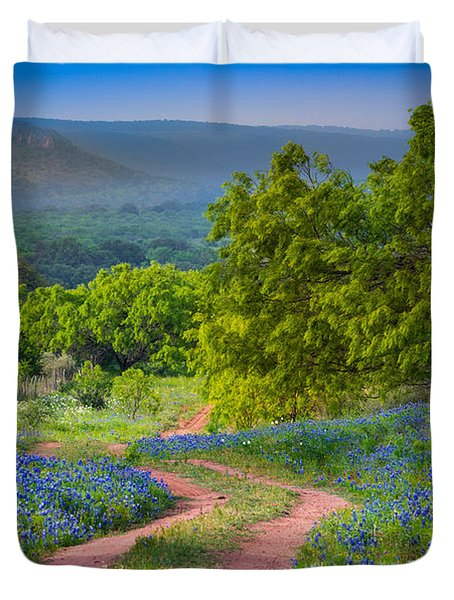 Willow City Road Duvet Cover