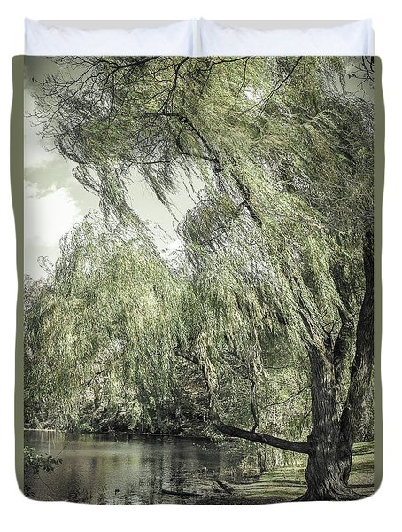 Willow Duvet Cover by Colleen Kammerer