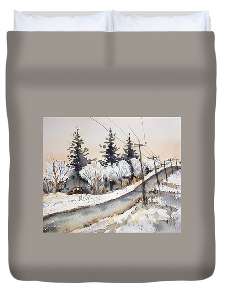 Willow Springs Road Duvet Cover