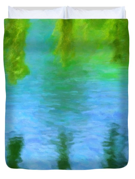 Willow Water Duvet Cover