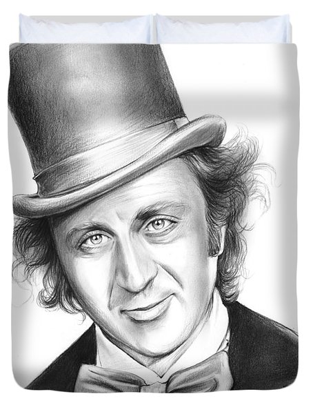 Willy Wonka Duvet Cover by Greg Joens