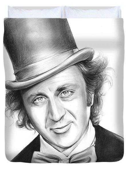 Willy Wonka Duvet Cover