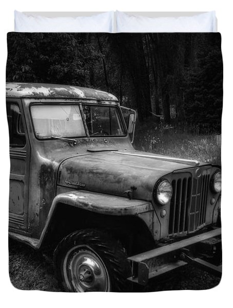 Willys Jeep Station Wagon Duvet Cover