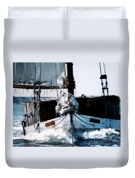 Wilma Lee Duvet Cover by Skip Willits