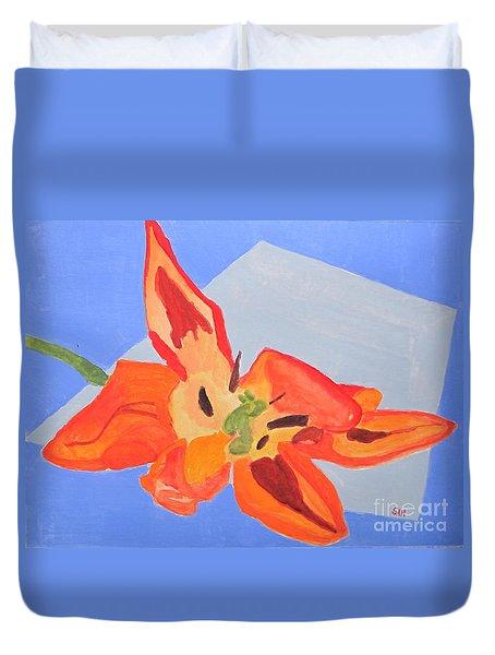 Wilted Tulip Duvet Cover