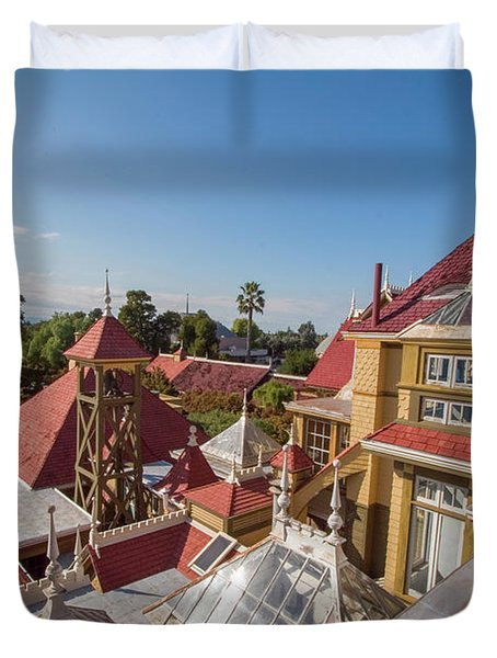 winchester mystery house San Jose California USA Duvet Cover
