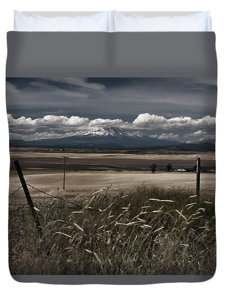 Wind Blown Plains Duvet Cover