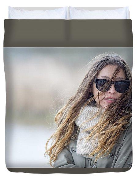 Wind.. Duvet Cover