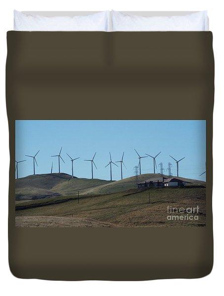 Wind Farm Duvet Cover