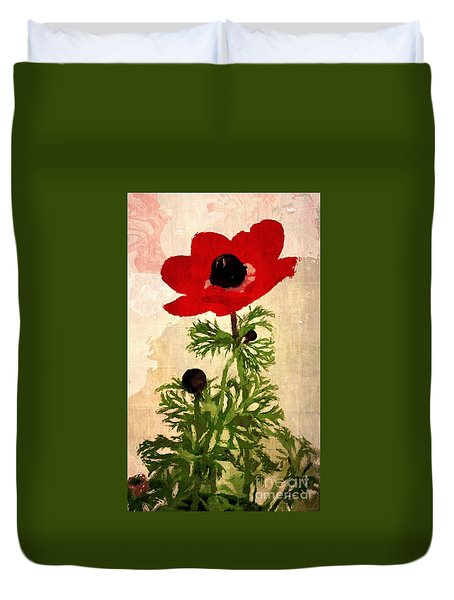 Wind Flower Duvet Cover