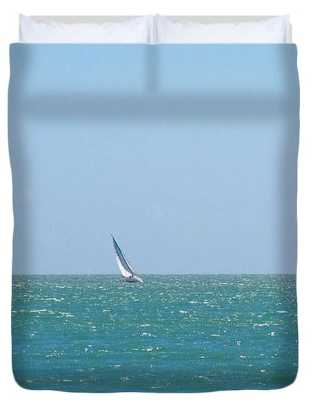 Wind In The Sails Duvet Cover
