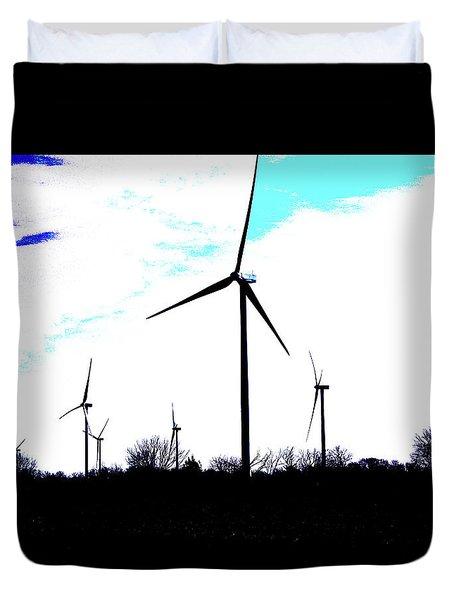 Wind Mills Duvet Cover