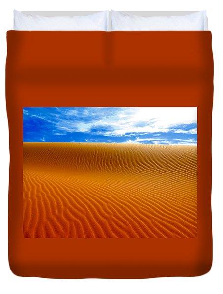 Wind On Sand  Duvet Cover