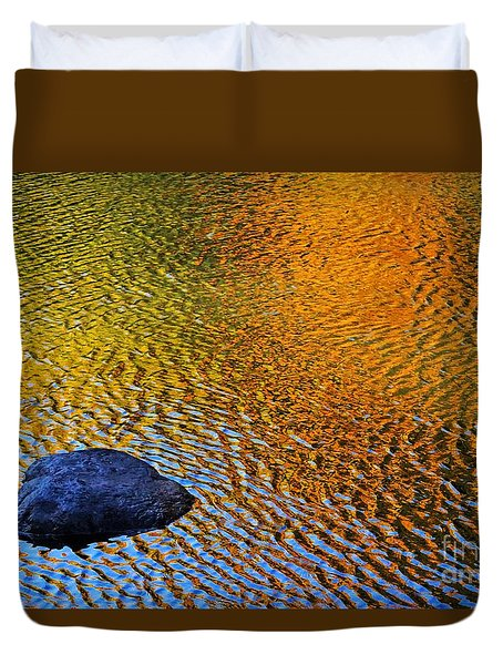 Wind On Water Duvet Cover by Aimelle