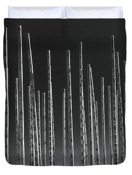 Wind Organ Duvet Cover