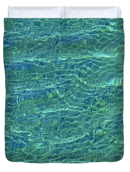 Wind Over Water Duvet Cover