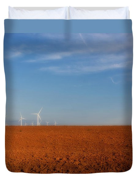 Wind Power Duvet Cover