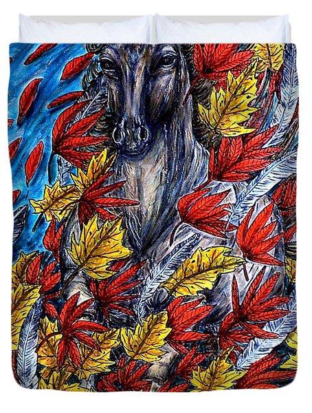 Wind Spirit Duvet Cover