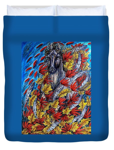 Wind Spirit Duvet Cover